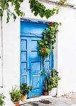 door, greece, old