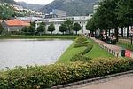bergen, town, center