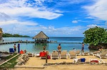lagune, beach, colombia