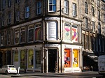 scotland, travel, corner in edinburgh