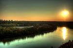 edmonton, canada, saskatchewan river