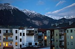 innsbruck, urban, sunset