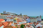 alfama, lisbon, colors