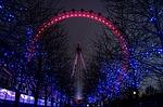 london eye, london, city