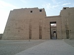 habu temple, pharaonic, ruins