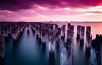 princes pier, melbourne, port melbourne
