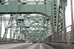 bridge, travel, cars