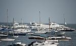 yachts, boats, sea