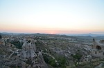 cappadocia, sunset, nevsehir