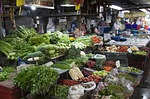 thailand, market, vegetable