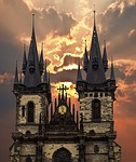 prague, churches, czech republic