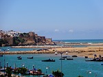 morocco, rabat, sea