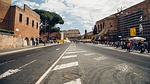 rome, street, towards