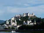 salzburg, old town, city