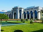 railway station, tashkent, uzbekistan