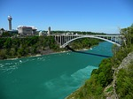 bridge, river, toronto