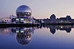 science world, false creek, vancouver