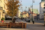 warsaw, old, town