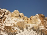 mount rushmore, monument, winter