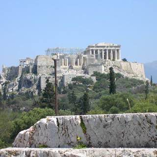 Acropolis of Athens, greece , aegina