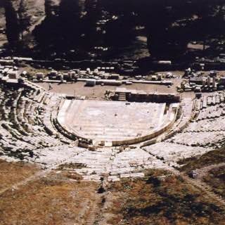 Theatre of Dionysus, greece , aegina