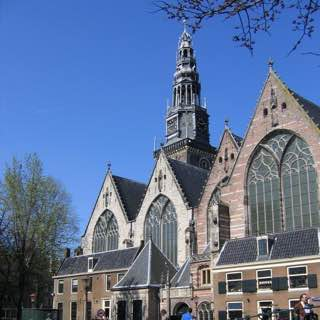 Oude Kerk, netherlands , amsterdam
