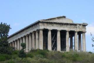 Temple of Hephaestus, greece , athens