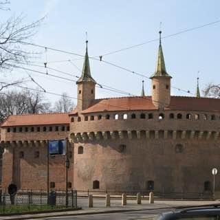 Kraków Barbican, poland , auschwitz