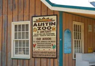 Austin Zoo, usa , austin