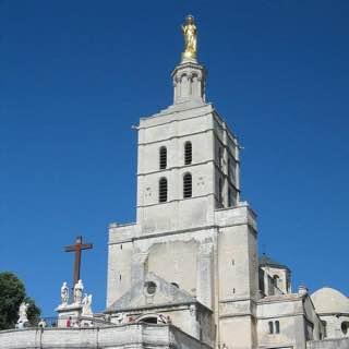 Avignon Cathedral, france , avignon