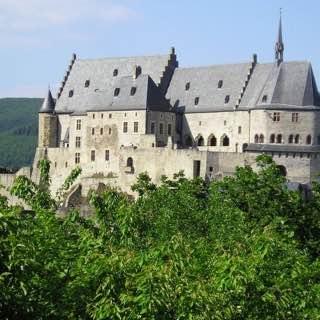 Vianden Castle, belgium , bastogne