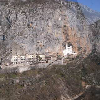 Ostrog monastery, montenegro , bayofkotor