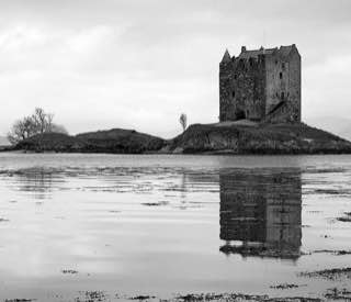 Castle Stalker, scotland , bennevis