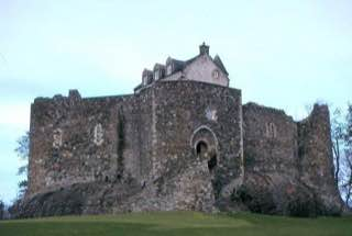 Dunstaffnage Castle, scotland , bennevis