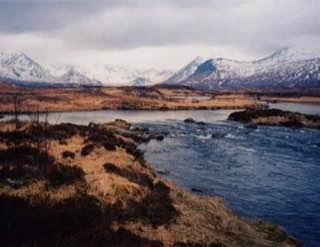 Rannoch Moor, scotland , bennevis