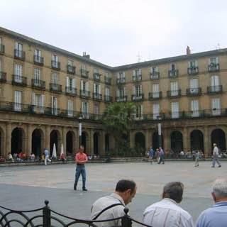Plaza Nueva, spain , bilbao
