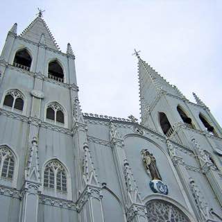Basilica of San Sebastian, Manila, philippines , boracay