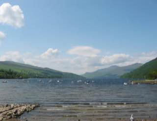 Loch Tay, scotland , brochofmousa