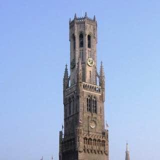 Belfry of Bruges, belgium , bruges