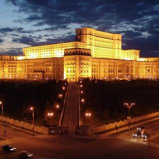 Palace of the Parliament, romania , bucharest