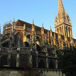 Church of Saint-Pierre, Caen, france , caen
