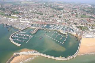 Port of Ramsgate, uk , canterbury