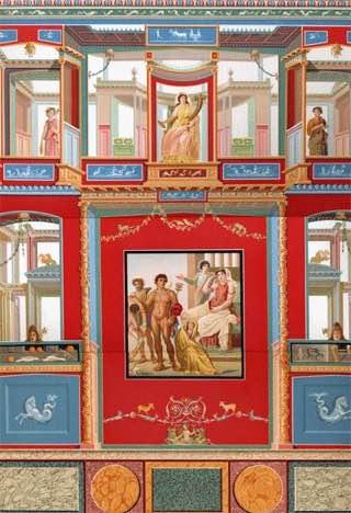House of the Vettii, italy , capri