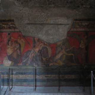 Villa of the Mysteries, italy , capri