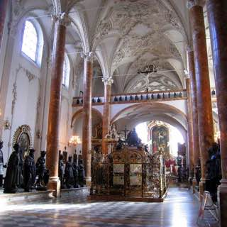 Hofkirche, Innsbruck, austria , centraltyrol