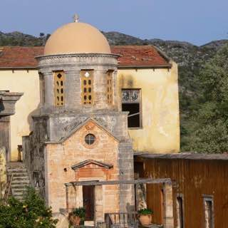 Agia Triada Monastery, greece , chania