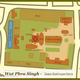 Wat Phra Singh, thailand , chiangmai