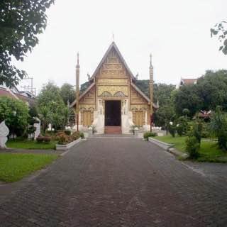 Wat Phra Sing, Chiang Rai, thailand , chiangrai