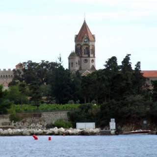 Lérins Abbey, france , cotedazur