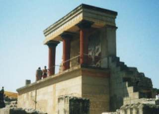 Knossos, greece , crete